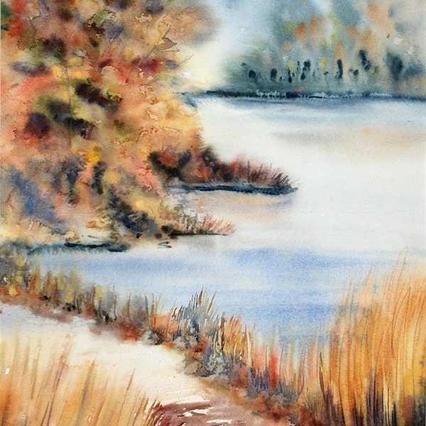 Red Maple Lake – Original
