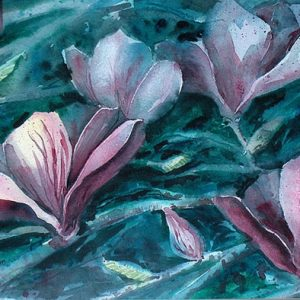 Magnolias Twilight - Original
