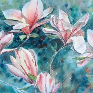 Spring Magnolias - Original