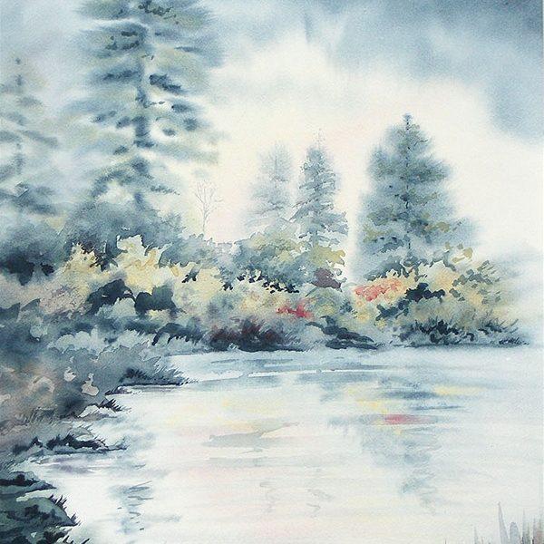 Violet Pond - Original
