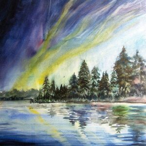 Northern Lights - Open Print Small