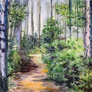 Bridle Path - Open Print Small
