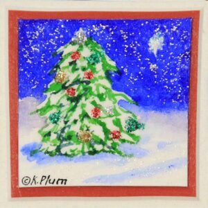 Christmas Tree Magnet - Box of 3