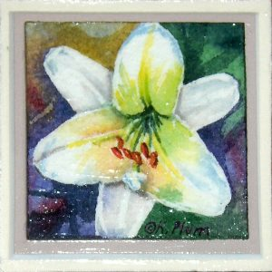 Easter Lily Magnet