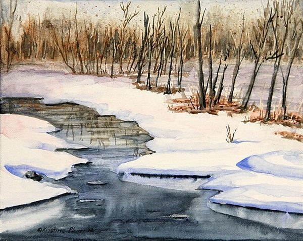 Winters Delight - Giclee Print Small