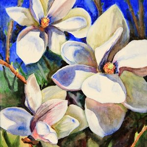 Magnolia with Shadows - Original