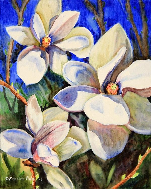Magnolia with Shadows - Original