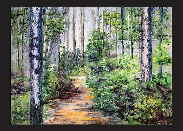 Bridle Path Note Card