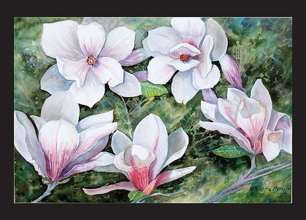 Midwest Magnolias Note Card