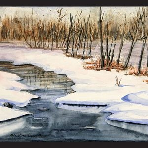 Winters Delight Note Card
