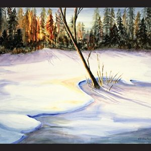Winter Sunrise Note Card