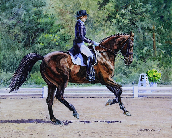 Extended Canter - Open Print Small