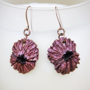 black walnut earrings