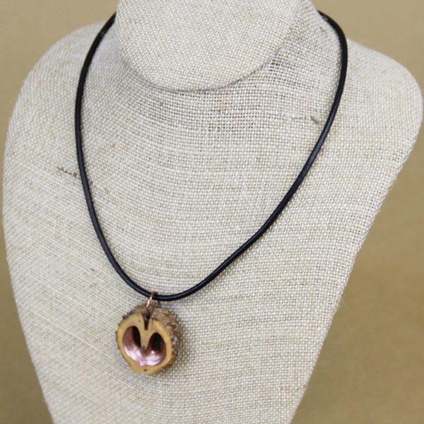Bronze Heart Necklace