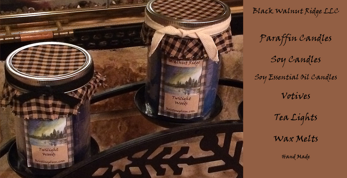 Black Walnut Ridge Candles