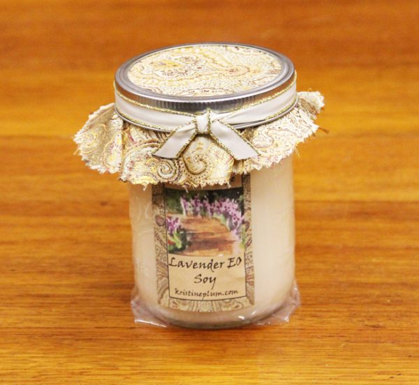 Lavender Candle large pint size