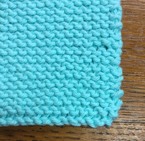 Knit coaster