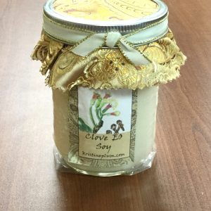 Clove Essential Oil Candle