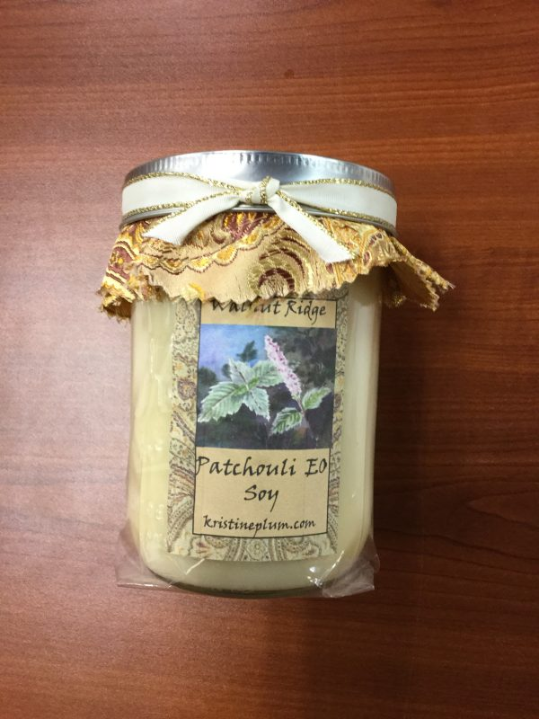 Patchouli Essential oil candle