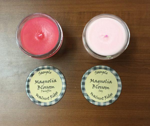 Magnolia Blossom sample jars