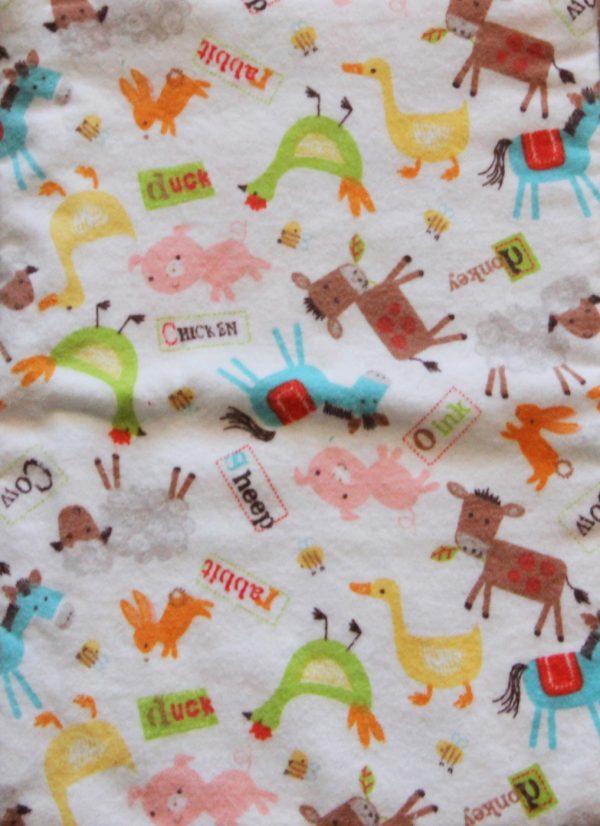 Flannel Animal Print