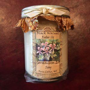 Geranium Large Jar