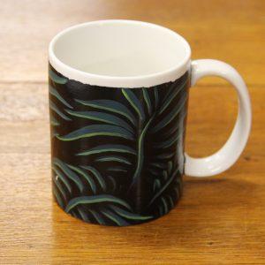Black Leaf Mug