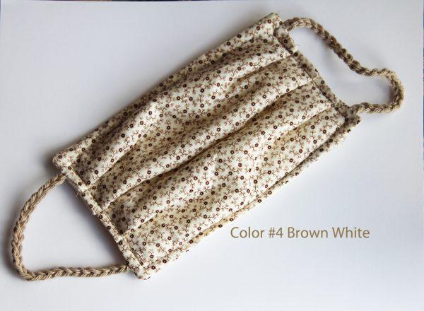 Color #4 - Brown White