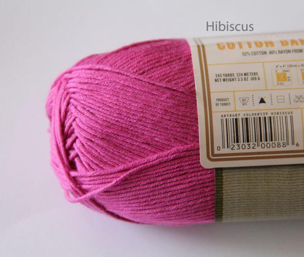 Hibiscus Cotton Bamboo