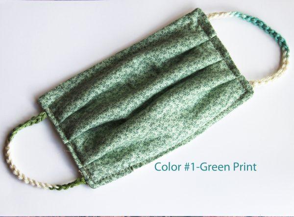 Color #1 - Green Print
