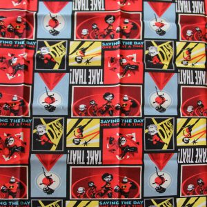 Incredibles Fabric