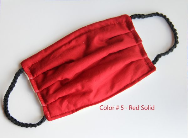 Color 5 - Red Solid