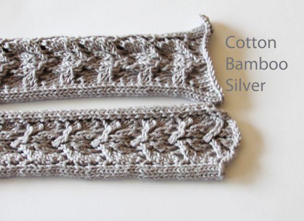 Cotton Bamboo Silver