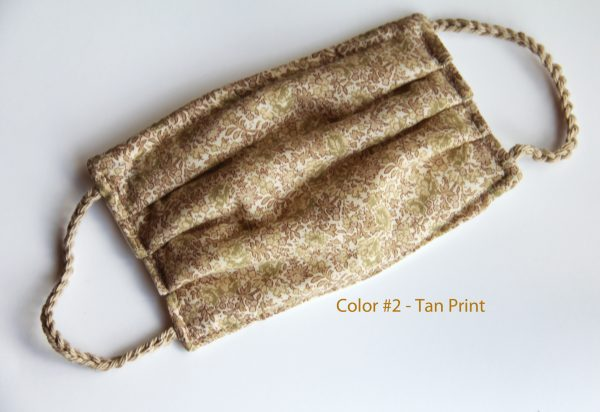 Color #2 Tan Print