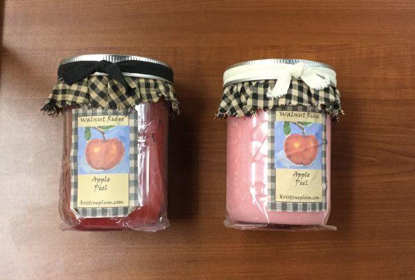 Apple Peel Candles