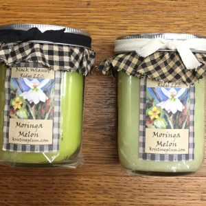 Moringa Melon Candles
