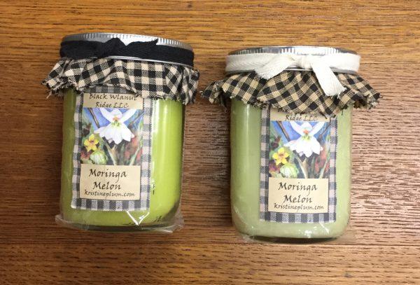 Moringa Melon Candles