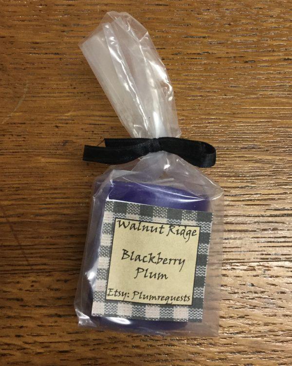 Blackberry plum votive